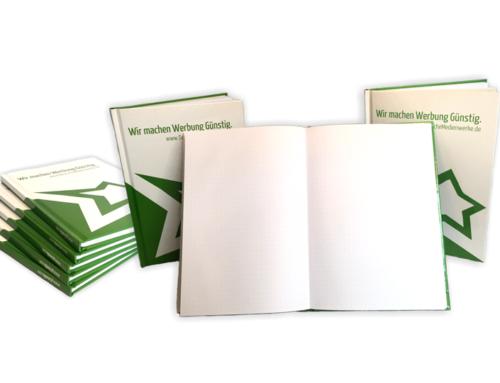 NEU: Notizbücher bedruckt mit Ihrem Design oder Motiv