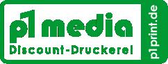 p1Print.de by p1 media Discount-Druckerei – Ihre Günstige Druckerei jetzt auch im Internet! Logo